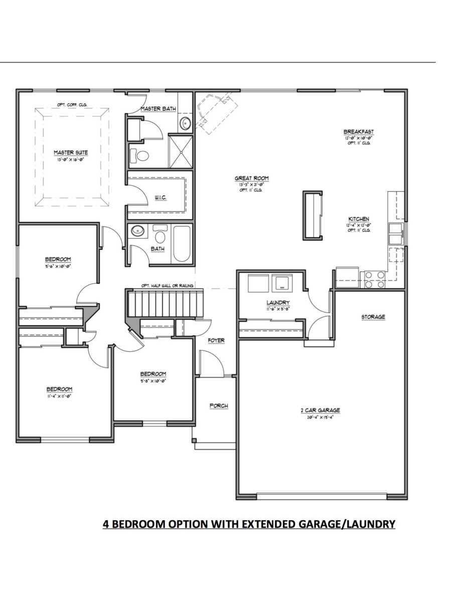 Hearth Room House Floor Plans House Plans