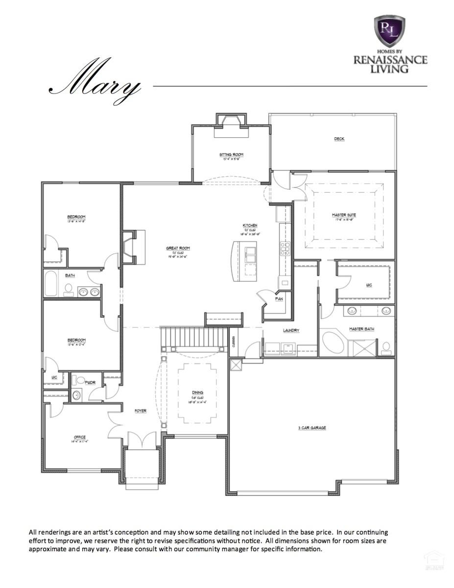 The Mary Renaissance Living Llc
